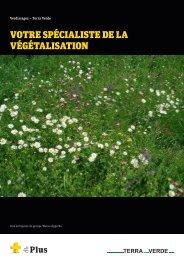 Prospectus Votre spécialiste de la végétalisation ... - Weiss+Appetito