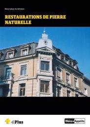 RESTAURATIONS DE PIERRE NATURELLE - Weiss+Appetito