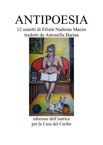 ANTIPOESIA - Traduzione dei Sonetti di Efrain ... - Autoeditoria.It