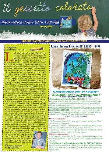 Maggio 2008 - Primo Circolo Didattico Nicola Parisi - Foggia