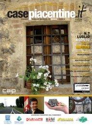 LUGLIO AGOSTO 2011 N.7 - Case Piacentine