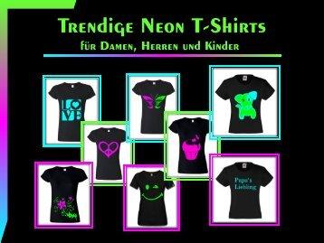 Trendige Neon T-Shirts