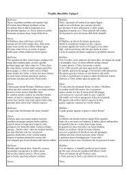 Virgilio, Bucoliche: Egloga I - Scuole Maestre Pie