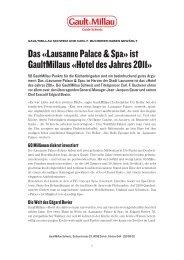 Schweizer Illustrierte - Lienhard & Fisch PR GmbH
