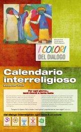 calendario interreligioso 2013 - Liceo Farnesina