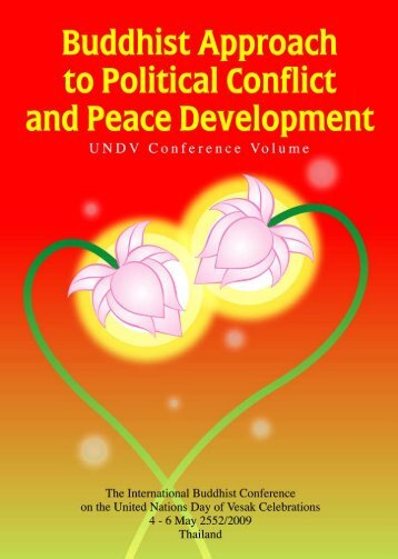 Buddhist Approach to Politicl Conflict and Peace Development ...