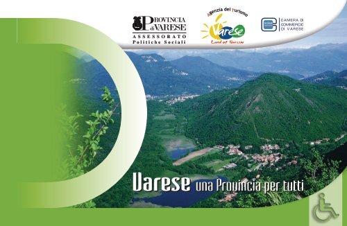 Varese una Provincia per tutti Varese una Provincia per tutti