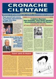 Novembre 2009 - Cronache Cilentane