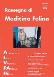 2010 Rassegna di Medicina Felina - AIVPAFE