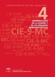 codificacion en cie-9-mc. edición 2012. enfermedades de la sangre ...