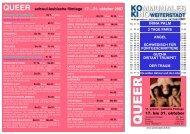 QUEER schwul-lesbische filmtage 17. - 31. oktober ... - Weiterstadt
