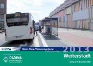 Fahrplanheft 2013 - Weiterstadt - Dadina
