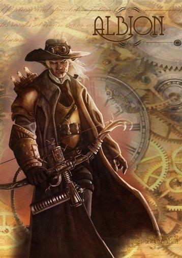le livret (couverture elfe explorateur) - La Gazette Nouvelle d'Albion