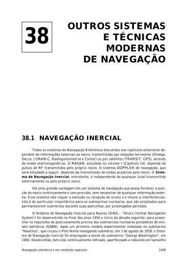 38. Outros Sistemas e Técnicas Modernas de Navegação