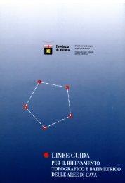 Linee Guida per il rilevamento topografico e batimetrico delle aree ...
