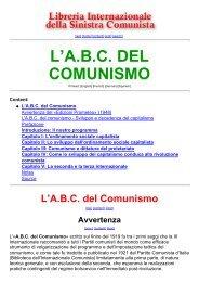 L'A.B.C. del Comunismo