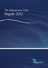 Regole 2012 - SICONOLFI & PARTNERS Broker di Assicurazioni
