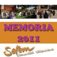 memoria 2011 - Setem