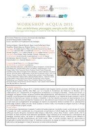 workshop acqua 2011 workshop acqua 2011 - Ghironda.com