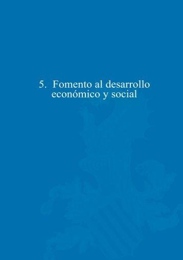 5. Fomento al desarrollo económico y social - Diputación de Valencia