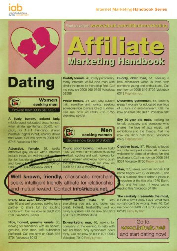 Affiliate Marketing Handbook (Artwork).indd - IAB UK