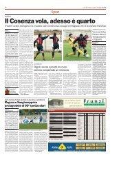 19/03/2007 Campionato 27a Giornata: Girone I - serie d news