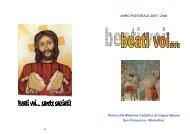 2007 / 2008 - Missione Cattolica di Lingua Italiana di Winterthur