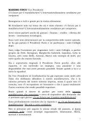 Assemblea Privata_Contributo Massimo Finco - Confindustria Padova