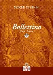 Aprile - Giugno Bollettino - Diocesi di Rimini