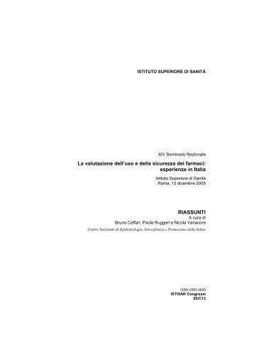 Scarica il full-text della pubblicazione in PDF - Istituto Superiore di ...