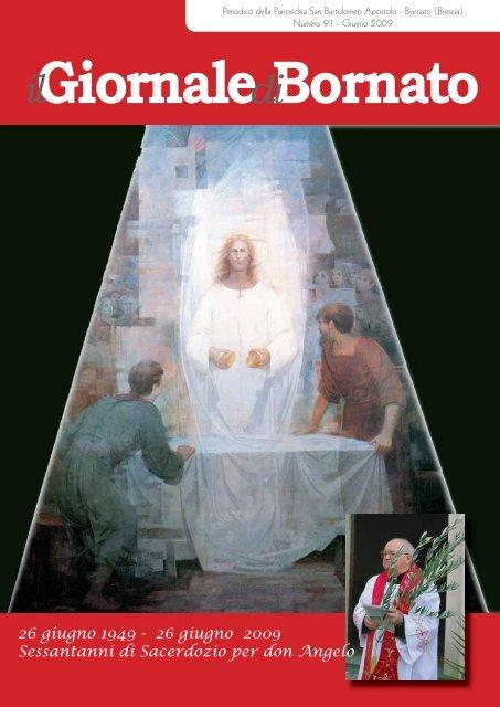 26 giugno 2009 Sessantanni di Sacerdozio per don Angelo