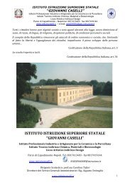POF - Istituto Superiore G. Caselli