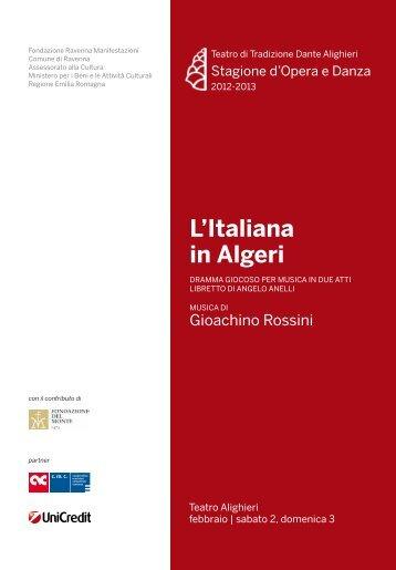 L'Italiana in Algeri PDF - Teatro Alighieri