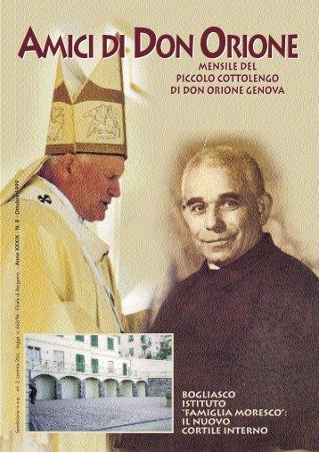 AMICI ottobre 1999 - Don Orione - Genova