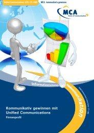 Unified Communications - MCA GmbH