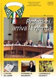 Colletti Verdi luglio/agosto 12 - Collegio Nazionale degli Agrotecnici