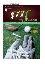Aprile 2011 - Golf For Passion
