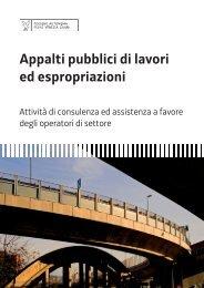 Manuale Appalti pubblici di lavori ed espropriazioni (nov. 2007)