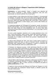La tutela del minore in Spagna: l'esperienza ... - Regione Abruzzo