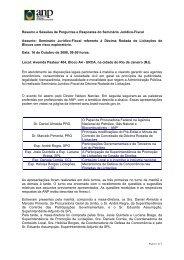 Resumo e Sessões de Perguntas e Respostas do ... - Brasil Rounds