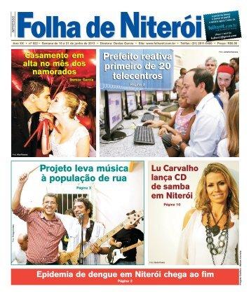 Projeto leva música à população de rua Prefeito ... - Folha de Niterói