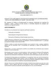 Comissão Especial de Licitaçãoão ENCCEJA 2009 ... - Inep