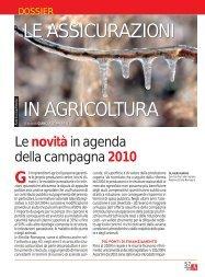 LE ASSICURAZIONI IN AGRICOLTURA LE ... - Ermes Agricoltura