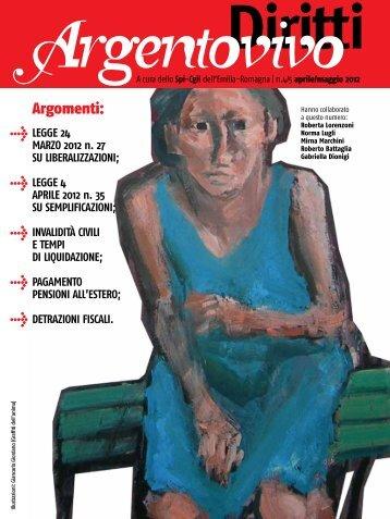 Argentovivo Diritti - Numero 4 - Aprile-Maggio 2012 - Spi-Cgil Emilia ...