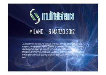multisistema - UniArea
