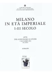 MILANO IN ETA IMPERIALE - Ermanno A. Arslan