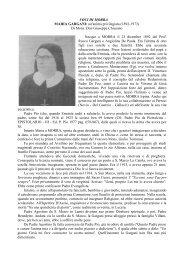 suor Maria Gargani di Mons.G. Chiusano