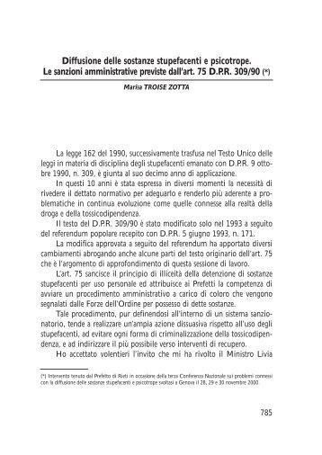 Marisa TROISE ZOTTA - Scuola Superiore dell'Amministrazione dell ...