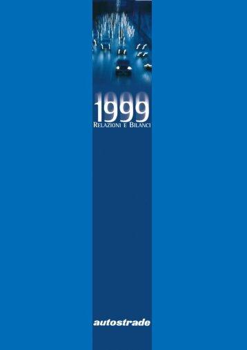 Bilancio 1999 - Atlantia
