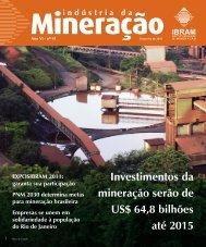 Investimentos da mineração serão de US$ 64,8 bilhões até ... - Ibram